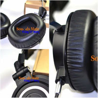 Memory Foam Softer Cushion Ear Pads For ATH Audio Technica M50x M40x M50s M50 M40 M30x Dj Headphone Headsets