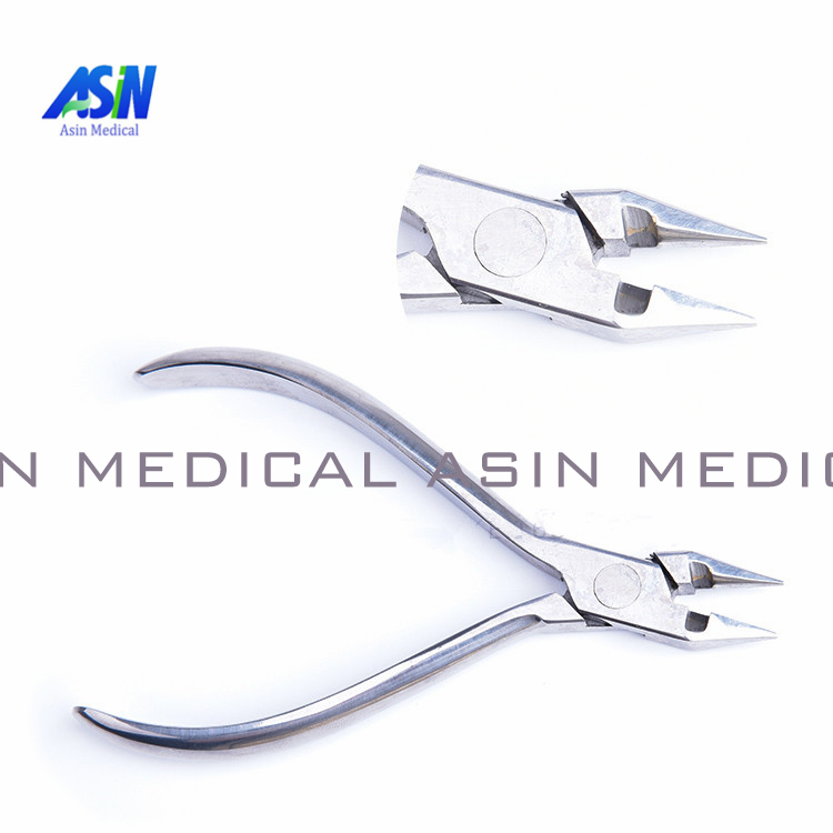 Dental orthodontic wire filament bending clamp pliers correction tape cutting inlaid tungsten steel
