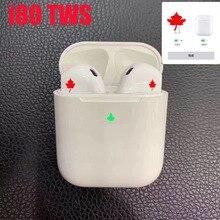 Лучшие оригинальные i80 TWS Air 2 всплывающие Bluetooth наушники Pk H1 W1 чип AP 2 i20 i30 i60 tws беспроводная гарнитура для наушники для телефона