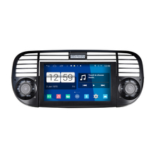 S160 Android Car Audio FOR FIAT 500 (Black and White Frame available) car dvd gps player navigation head unit device BT WIFI 3G