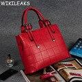 2016 New Korean Plaid Bags Fashion Handbag Messenger Luxury Handbags Women Bag Designer Brand Famous Thread Caviar Bolsa DB103