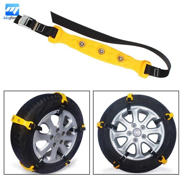 Brand New 10pcs/set 37 x 4.7cm Car Tire Snow Chains Beef Tendon VAN Wheel Tyre Anti-skid TPU Chains