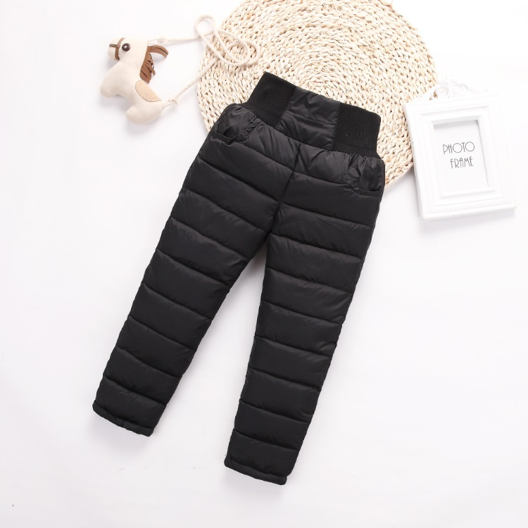 Baby Boys Girls Leggings 1-3 Years Old Plus Velvet Leather Pants To Keep Warm