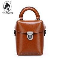 Summer New Leather Female Bag Bag Portable Mini Box Camera Bag Shoulder Inclined Shoulder Bag Female