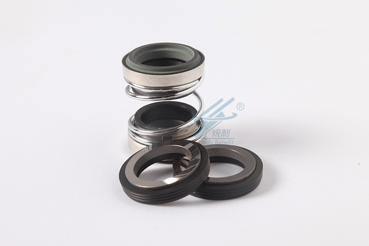 10pcs 208-17 17mm Internal Dia Metal Single Spring Bellows Mechanical Shaft Seal 108 28 28mm internal diameter mechanical water pump shaft seal