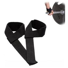 Free Shipping 1Pair Weight Lifting Hand Wrist Bar Support Strap Brace Wrap Belt Gym Straps Body Building Grip Glove