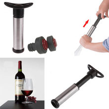 Hot Vacuum Sealed Wine Champagne Botol Stopper Pemelihara Pompa Air Sealer Plug(China)