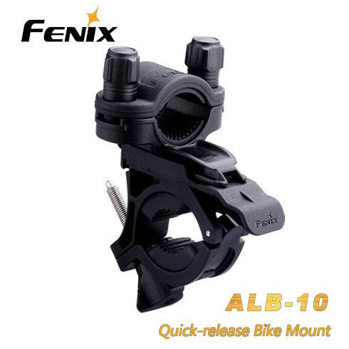 цена на Fenix ALB-10 Quick-Release 18-26mm Flashlight Torch TK22 TK15 PD32 E35 E25 TK11 E21 LD12 LD22 Bike Bicycle Cycling Riding Mount