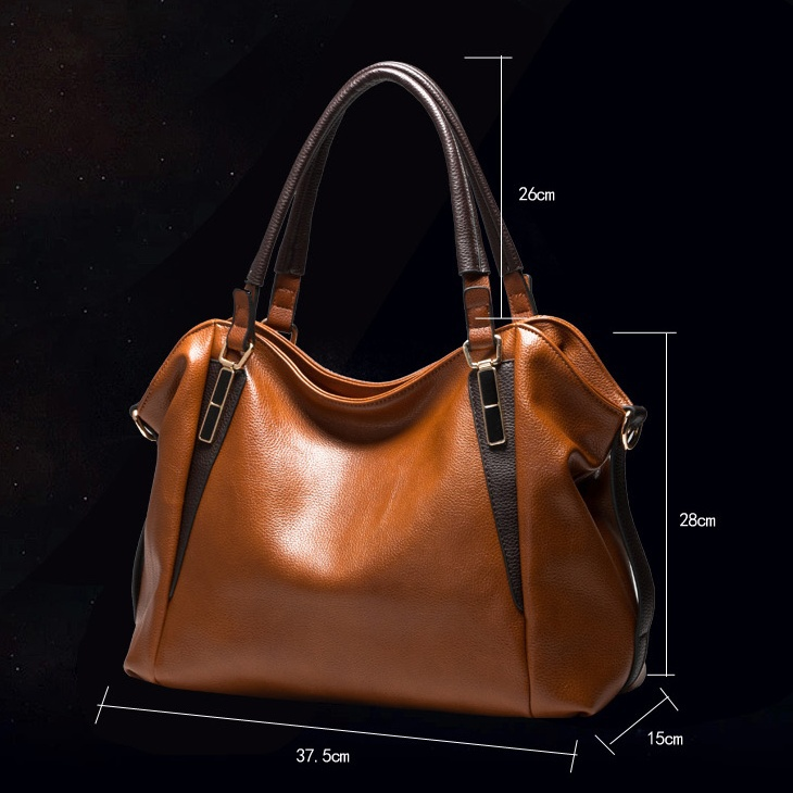 mulheres bolsa de bolsas de Classification : Oil Wax Leather, Lichee Pattern Leather