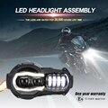 Nuovo Arrivo! moto LED Fari Proiettore per BMW R1200GS 2004-2012 R 1200GS ADV Adventure 2005-2013 Moto Luci di Montaggio