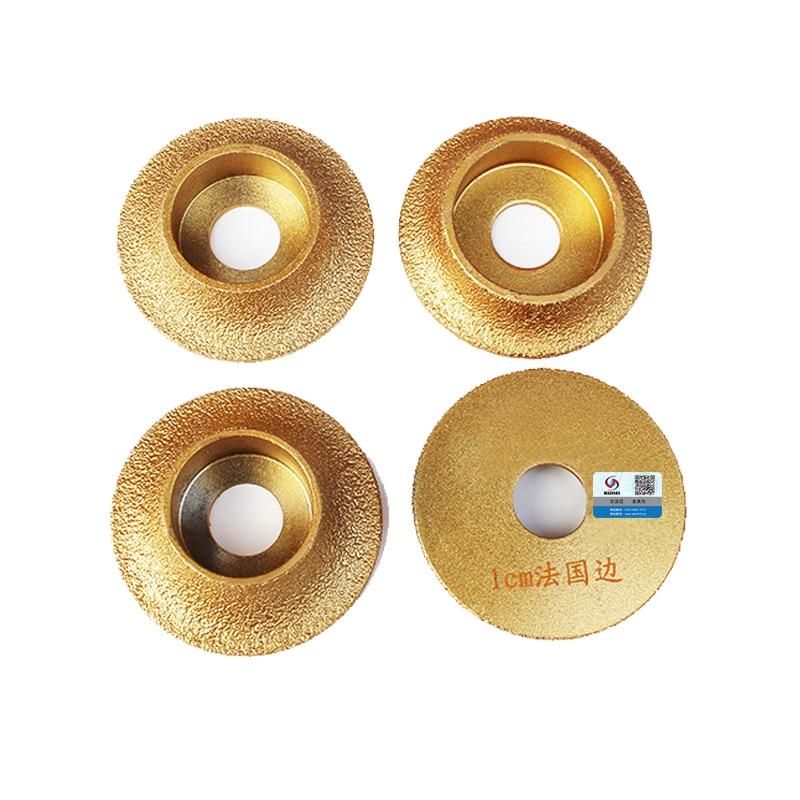 RIJILEI 74mm * 20 * 10-25 Diamanti per brasatura Dischi per bordi in - Utensili elettrici - Fotografia 5