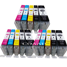 Get more info on the 15pk New Canon PGI 470 CLI 471 Compatible ink cartridges for CANON PIXMA MG 5740 8640 / TS 5040 6040 inkjet Printer