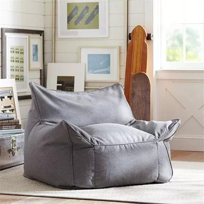Poltrona Fauteuil Sedie Sandalyeler Silla Single Tatami Kids Bed Copridivano Poef Computer Beanbag Chair Cadeira Sofa Bean Bag 3