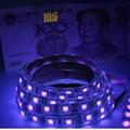 DC12V 1-5m UV black light Led Strip 5050 SMD 60led/m ip65/non waterproof Ultraviolet Ray Purple Flexible Tape Ribbon lamp