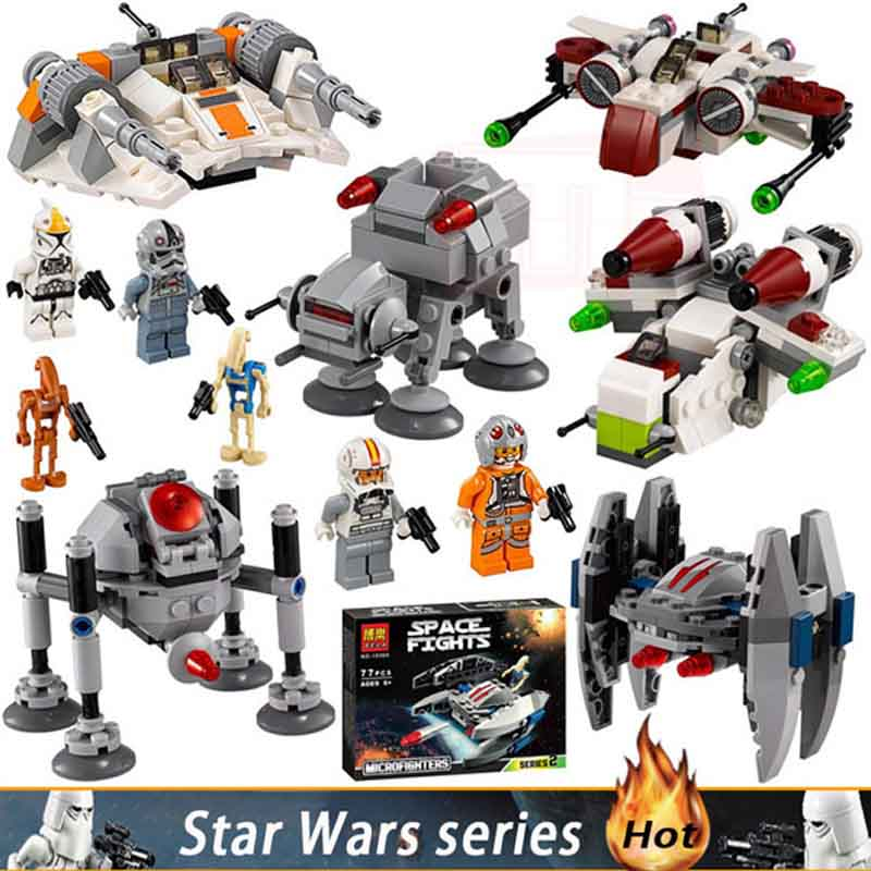 Boy Toys Star Wars models blocks Assembly figures toys for children compatible Technic series mini building blocks StarWars sets city series police car motorcycle building blocks policeman models toys for children boy gifts compatible with legoeinglys 26014