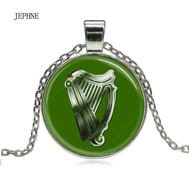Jephen vintage st patricks day irish harp of ireland pendant chain jephen vintage st patricks day irish harp of ireland pendant chain necklace gift fashion jewelry for aloadofball Choice Image