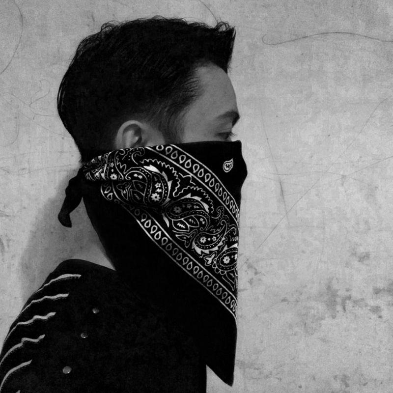 Outdoor Sports Sunscreen Riding Mask Seamless Magic Scarf Men and Women Street Dance Hip Hop Turban Headscarf