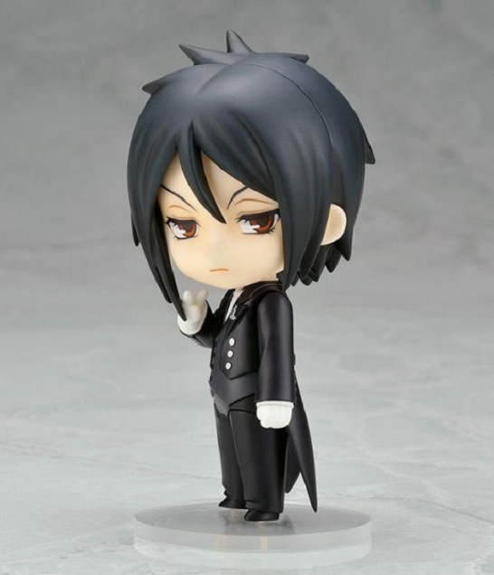 10cm Black Butler Sebastian Michaelis Action Figure Collection toys for christmas gift Free shipping with retail box