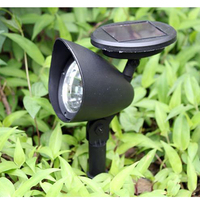 Lawn LED Light Plug The Lights Solar Energy Waterproof Outdoor Garden Lamp Decoration ABS ColdLight