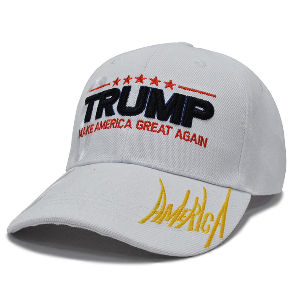 Casual Casquette Canvas Sports Outdoor Baseball Cap Letters Breathable Hat Men Women Adjustable Fashion Hip-Hop For Trump 2020(China)