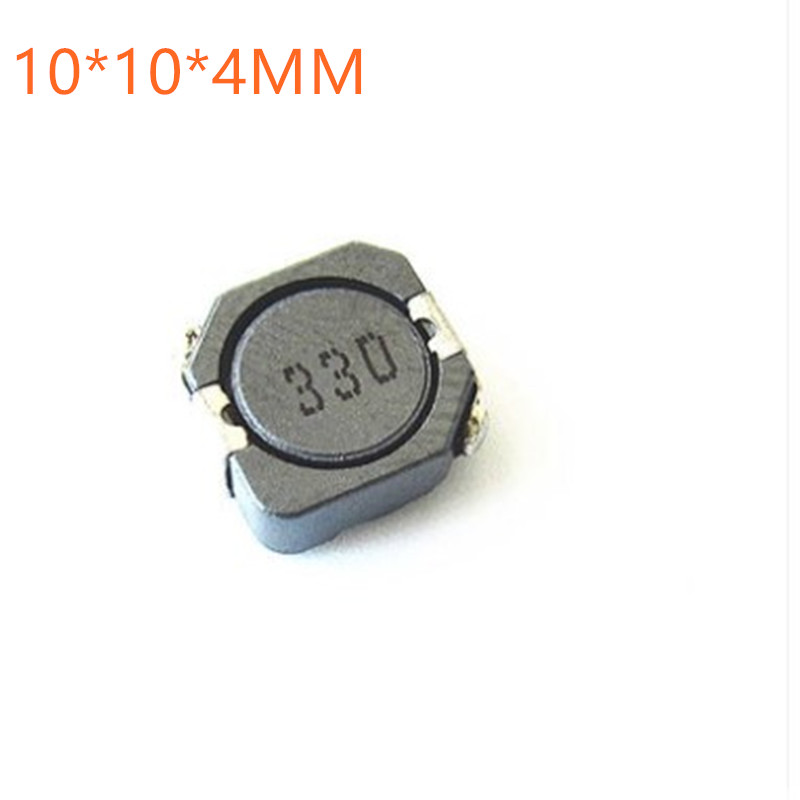50PCS/lot SMD power inductors CDRH104R CD104R 10*10*4MM 2.2UH 3.3UH 4.7UH 6.8UH 10UH 22UH 33UH 47UH 68UH 100UH 150UH 220UH 330UH image