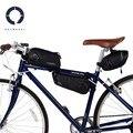 Roswheel Cross Series 121454 велосипедная Сумка-седло сумка на заднее сиденье сумка на переднюю раму сумка треугольная сумка