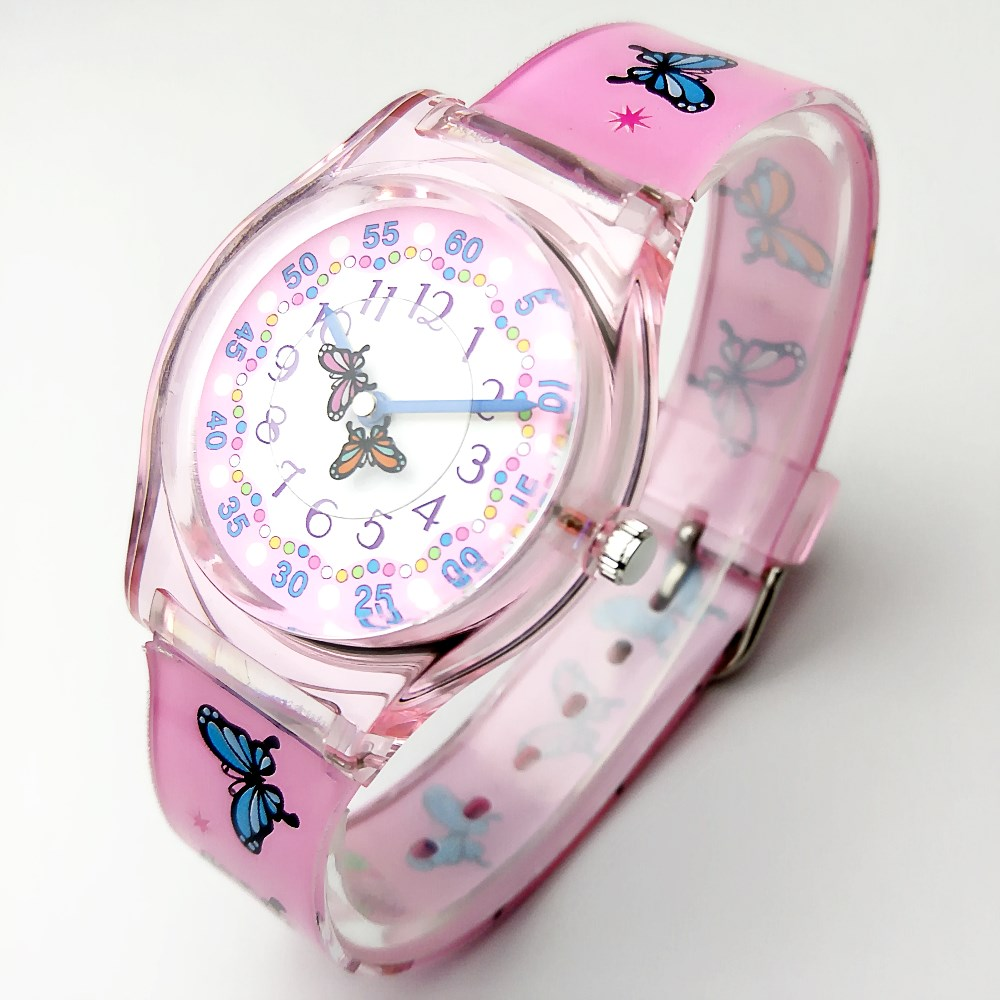 HTB1bVvaRXXXXXaqaFXXq6xXFXXXw - WILLIS Luxury Butterfly Lovely Pink Silicone Strap Ladies Student Watch-WILLIS Luxury Butterfly Lovely Pink Silicone Strap Ladies Student Watch