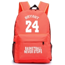 Bryant Canvas Backpack Teenagers Basket Ball Backpacks Men Women RuckSack Boys Girls School Bag For Student Mochila Escolar все цены