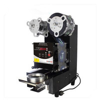 220V Commercial Full Automatic Sealing Machine For Pearl Milk Tea Shop Soya Bean Milk Shop Coffee