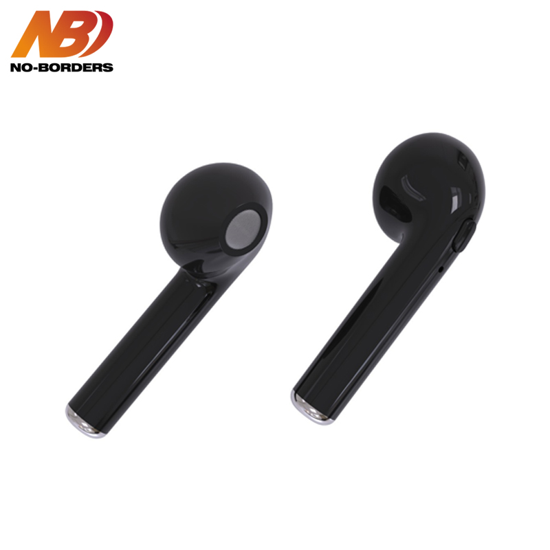NO-BORDERS i7s TWS Bluetooth Earphone Mini Wireless Cordless Earpiece Stereo Sport in ear Earbuds Earphone With Mic For iPhone
