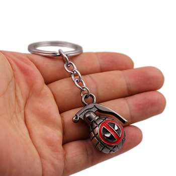 Deadpool War Grenade Keychain  1