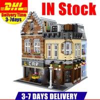 Lepin 15034 4210Pcs Genuine MOC Series The New Building City Set Building Blocks Bricks Educational Toys