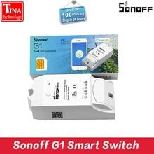 Original Sonoff G1 WiFi Interruptor de Control Remoto Inalámbrico de casa Inteligente poder A Través de RED GPRS SIM Soporte para el Invernadero Para Mascotas alimentación