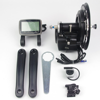 TONGSHENG Electric Bicycle Motor TSDZ2 Motor 36 48V 250 350 500W Mid Drive Motor EBike Kit