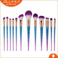 12 Unicorn Makeup Brushes A Set Of Beauty Tools Screw Thread GUJHUI A Brush