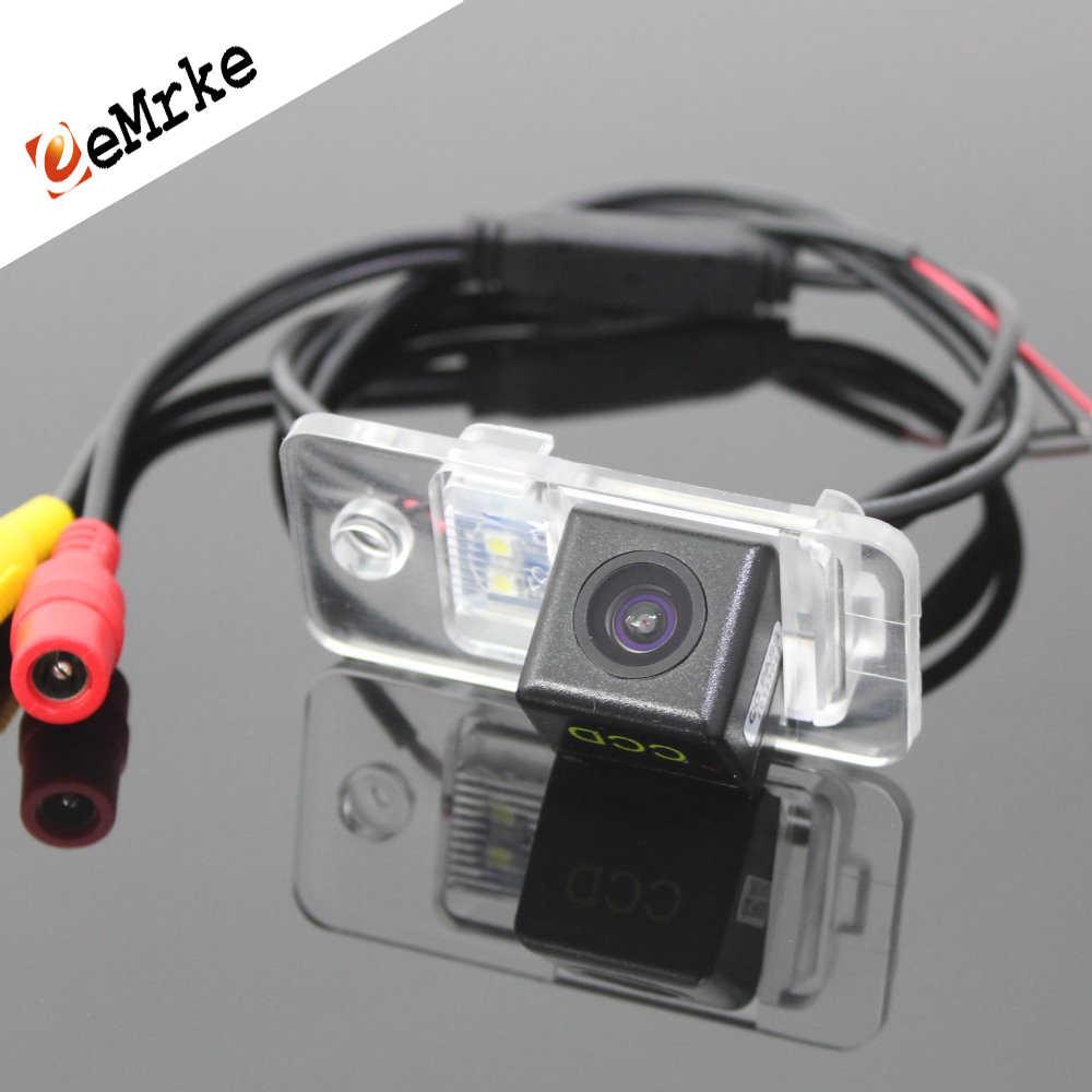 Caméra de recul de voiture et Vision nocturne HD CCD étanche et antichoc caméra de recul pour Audi A6 C6 S6 RS6 2005 ~ 2009