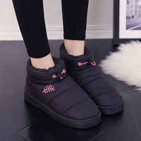 2017 Winter Snow Boots Waterproof Women Cotton Ankle Boots Slip Resistant Fashion Winter Warm Cotton Shoes