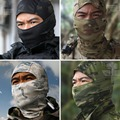 Multicam Balaclava Tactical Airsoft Hunting Outdoor Protection Neck Cap Hat Cover Military Motorcycle Ski Cycling Full Face Mask