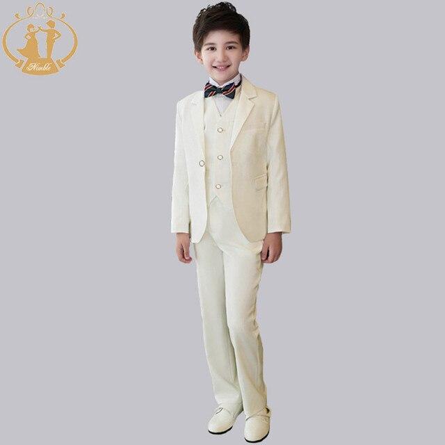 cd709dc031c5e Nimble blanc garçons costumes pour mariages Blazers pour garçons Blazer Costume  Enfant Garcon Mariage Terno Infantil