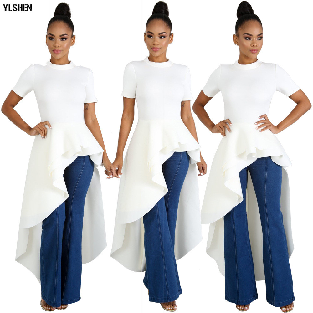 African Dresses For Women Dashiki Dovetail Skirt Fashion African Clothes Super Size Sexy African Clothing Elegant Africa Dress