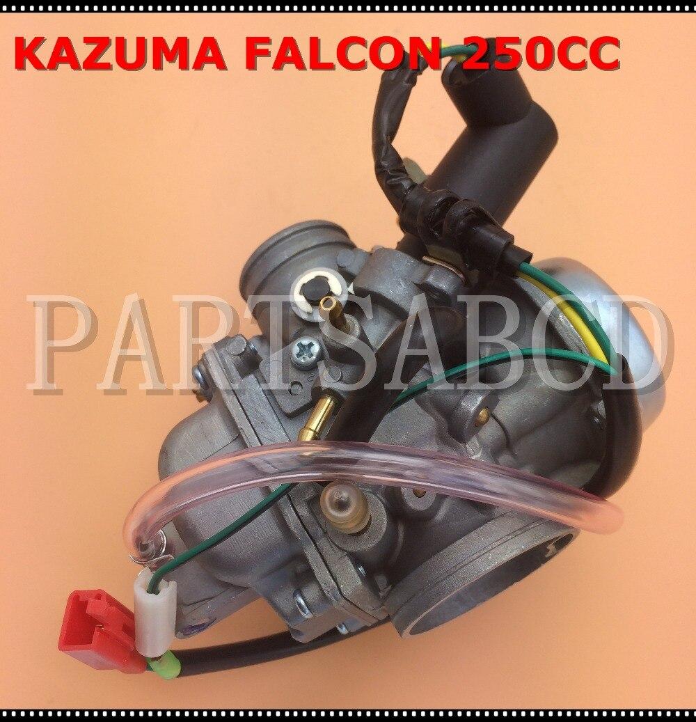 US $22 99 |250 250cc ATV Carburetor KAZUMA Falcon 250CC ATV Carb Parts-in  ATV Parts & Accessories from Automobiles & Motorcycles on Aliexpress com |