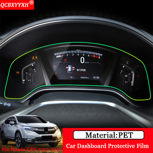 QCBXYYXH Car Styling 1pcs PET Dashboard Paint Protective Film Light Transmitting Auto Accessories For Honda CRV CR V 2017 2018|Automotive Interior Stickers| |  -