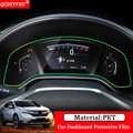 QCBXYYXH samochodu stylizacji samochodów 1 sztuk PET deski rozdzielczej farba ochronna folia ochronna transmisji światła akcesoria samochodowe dla Honda CRV CR-V 2017 2018