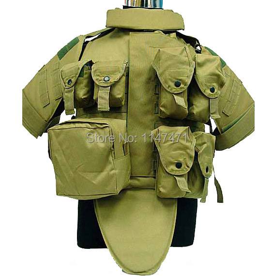 OTV Camouflage Interceptor Tactical Vest Colete Airsoft Tactical Molle Body  Armor Combat Plates Vest Multicam Military Uniform 94e30c408f491