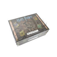 NEW 1 Box Harry Potters English Edition Playing Game Collection Cards Toys For Kids Party Gift Voldemort Hermione Action Figures