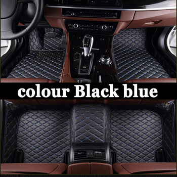 Custom make car floor mats for BMW 3 series 318d 313 325 328 E46 E90 E91 E92 E93 F30 F31 F34 GT car styling carpet image