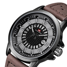 2019 New Watch Men Fashion Sport Quartz Clock Mens Watches Brand Luxury Leather Business Waterproof Watch Relogio Masculino цена
