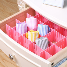 New Eco-friendly Adjustable Plastic Stretch Clapboard Drawer Divider Partition Storage Organizer DIY Home Useful Box