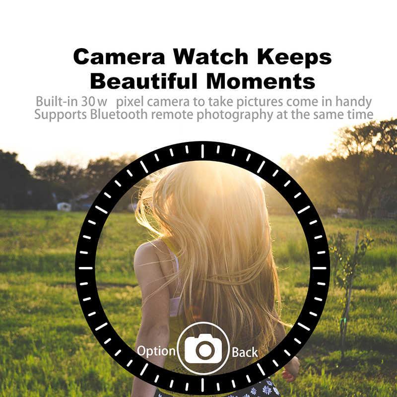 Reloj inteligente LIGE New Fashion Smart Watch Men Women Bluetooth Touch Screen Waterproof Sport Fitness watch Support SIM Card