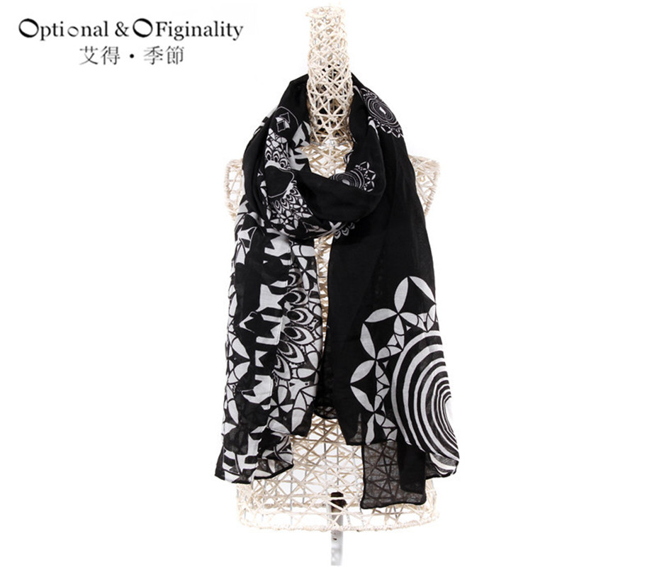 Best Fashion Women's Scarves 2016 winter Cotton Keep warm With butterfly pattern series Christmas gift Free Shipping